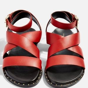 Beautiful Red Sandals